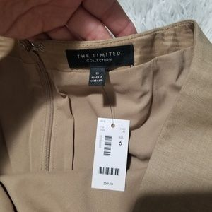 The Limited Skirts - The Limited tan straight skirt size 6 NWT